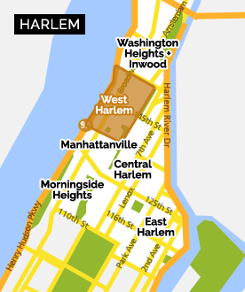 Manhattanville Campus Map.West Harlem Hamilton Heights Sugar Hill Explore Harlem Nyc